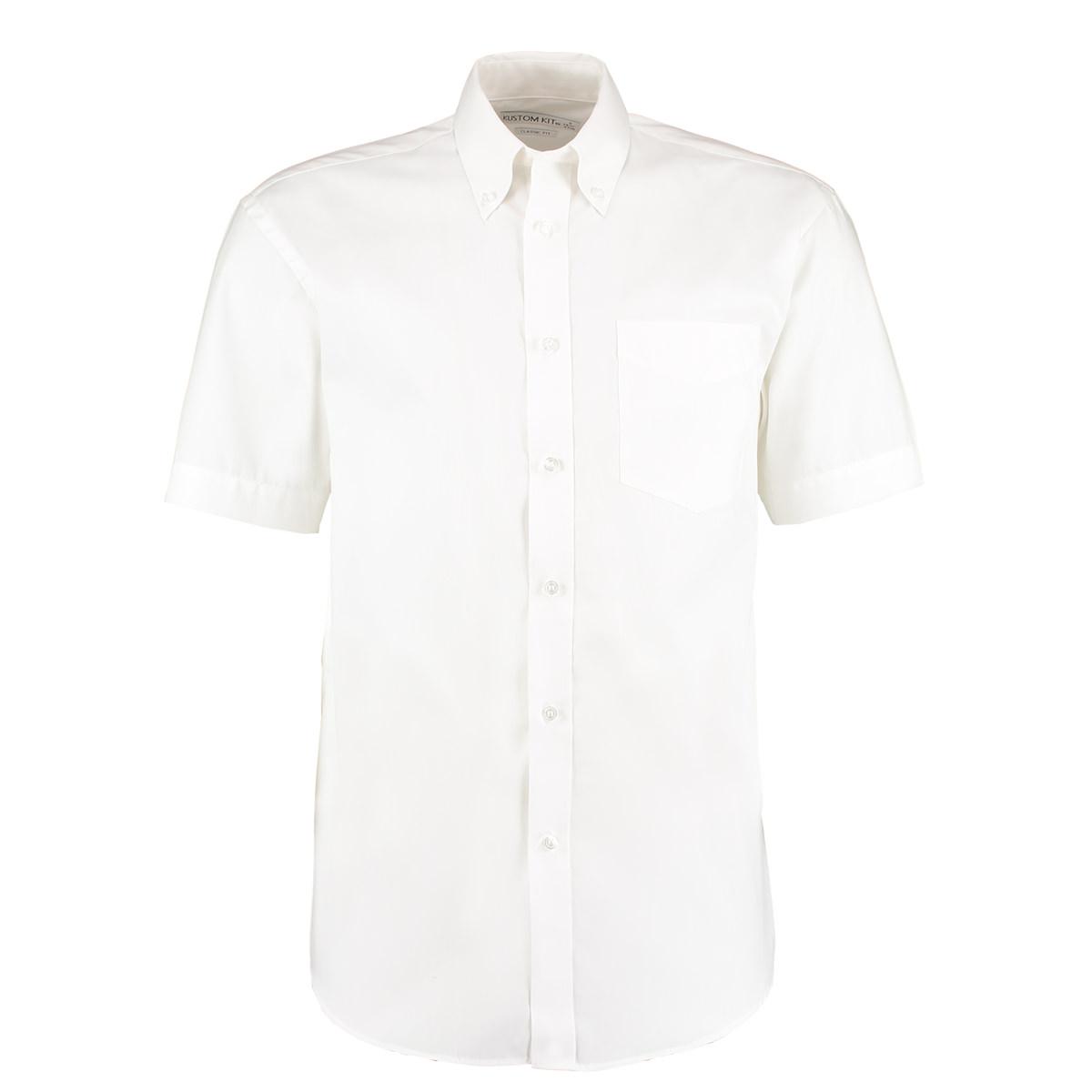 Mens Short Sleeve Oxford Shirt