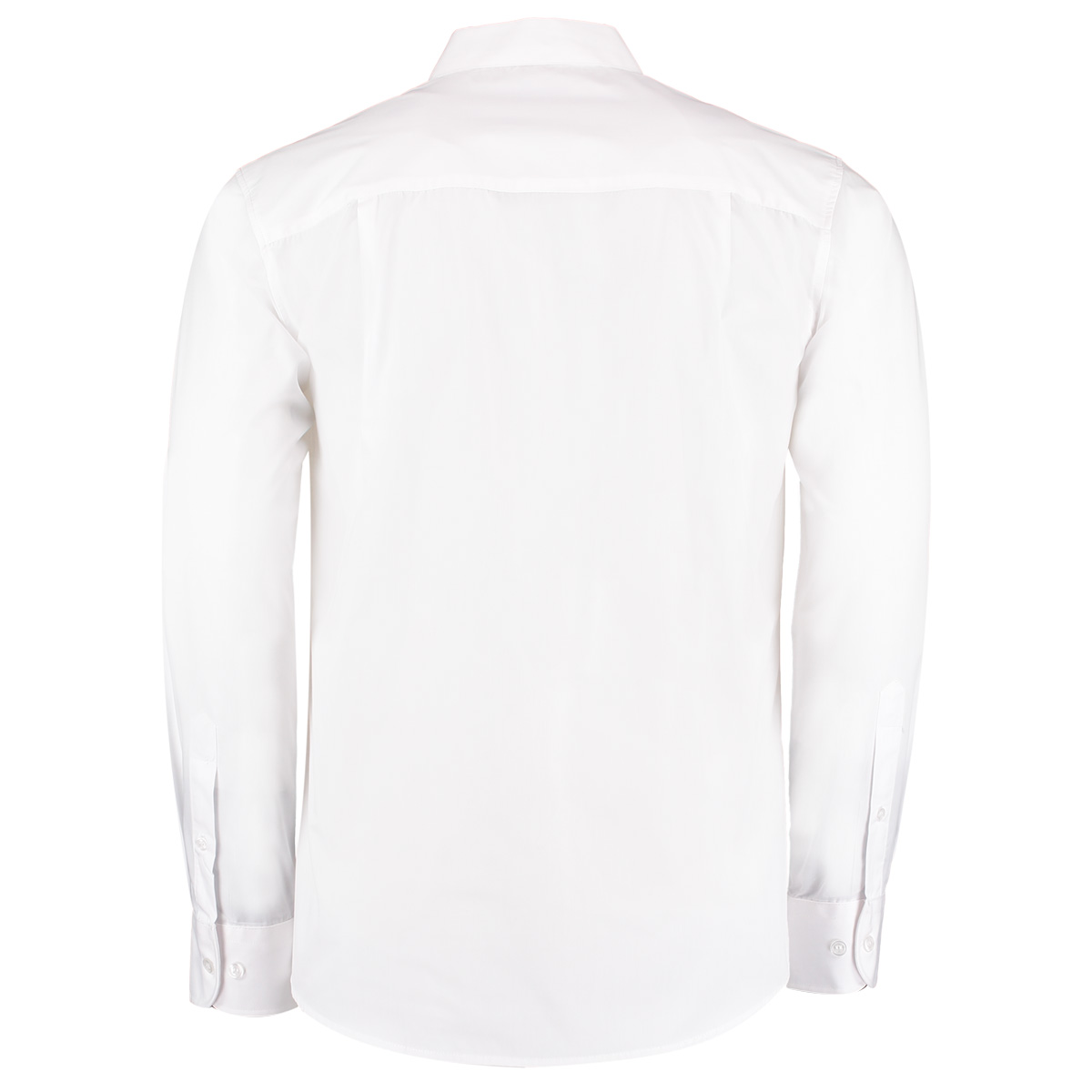 Mens Black Mandarin Collar Shirt