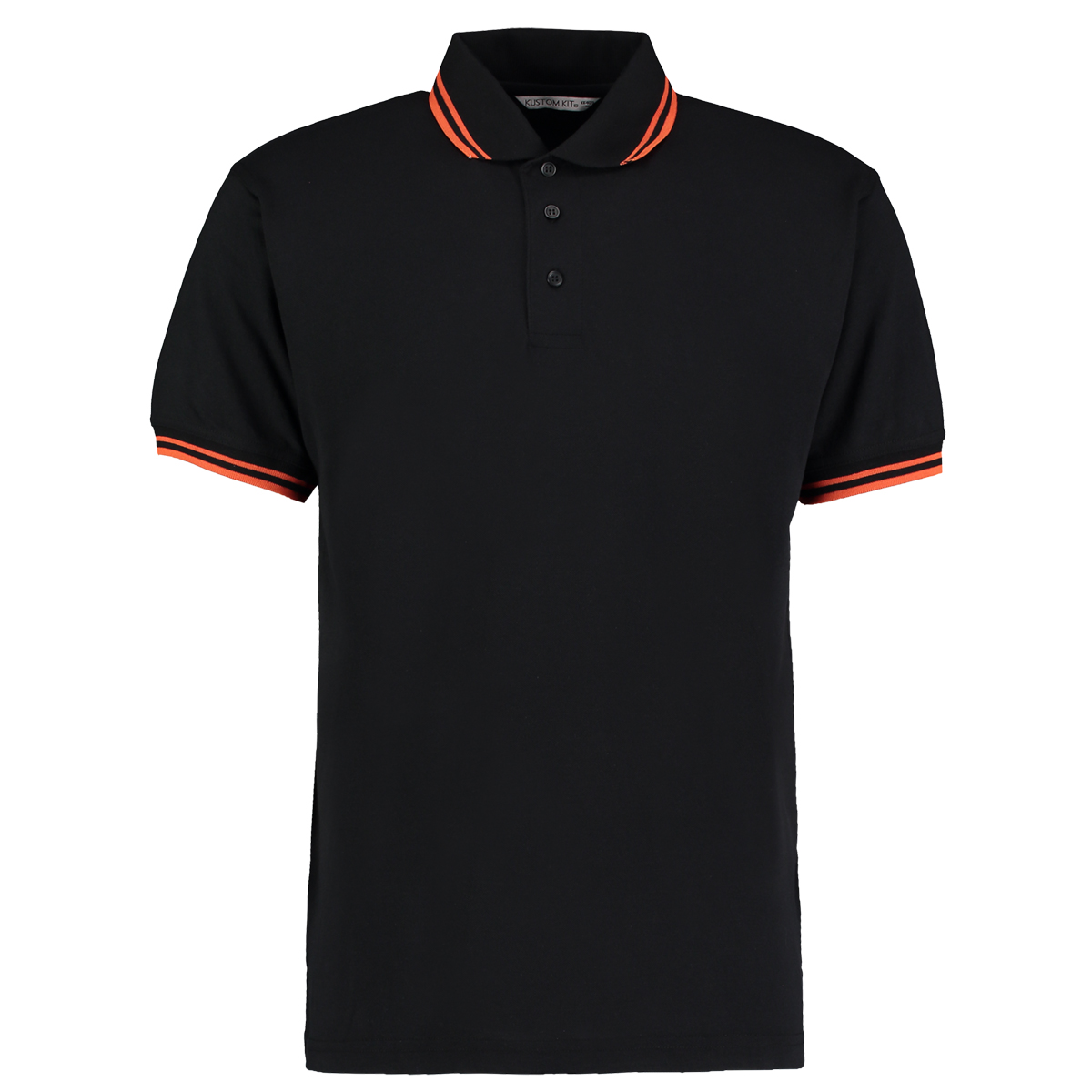 Black t shirt red collar - Click On A Colour To View Black Orange Black Red