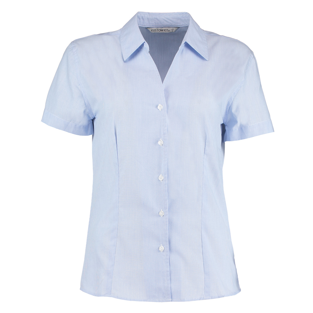 Kk713 Pinstripe Shirt Kustom Kit