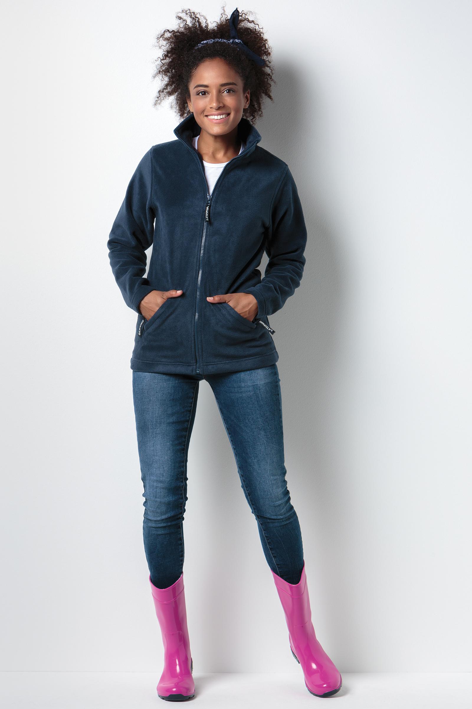 KK904 Women's Full Zip Active Fleece