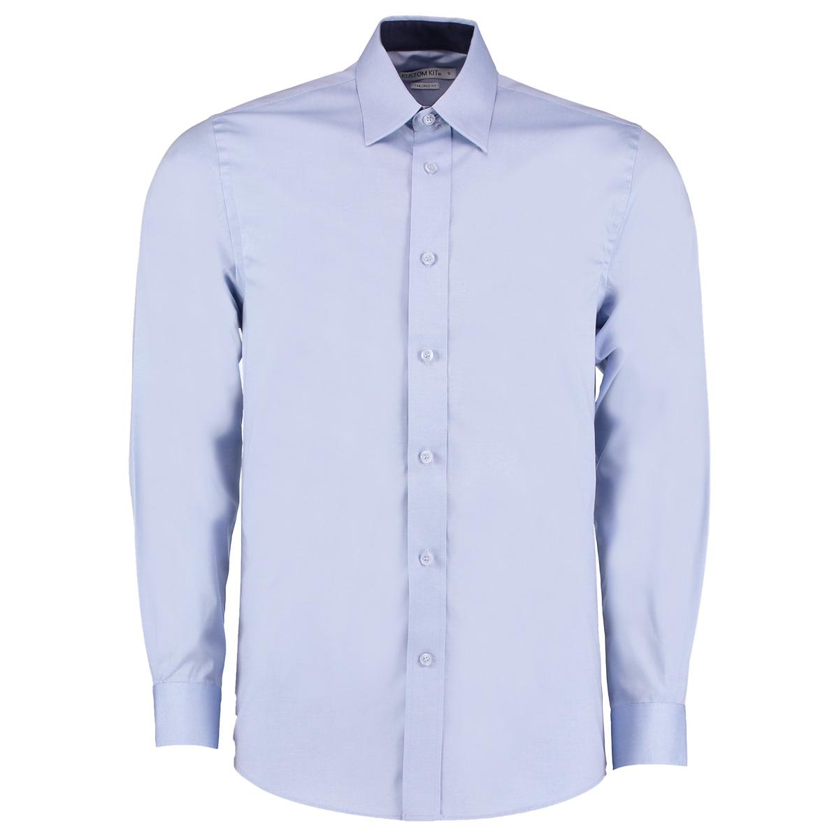 7a86f024209 KK189 Contrast Premium Oxford Shirt - Kustom Kit
