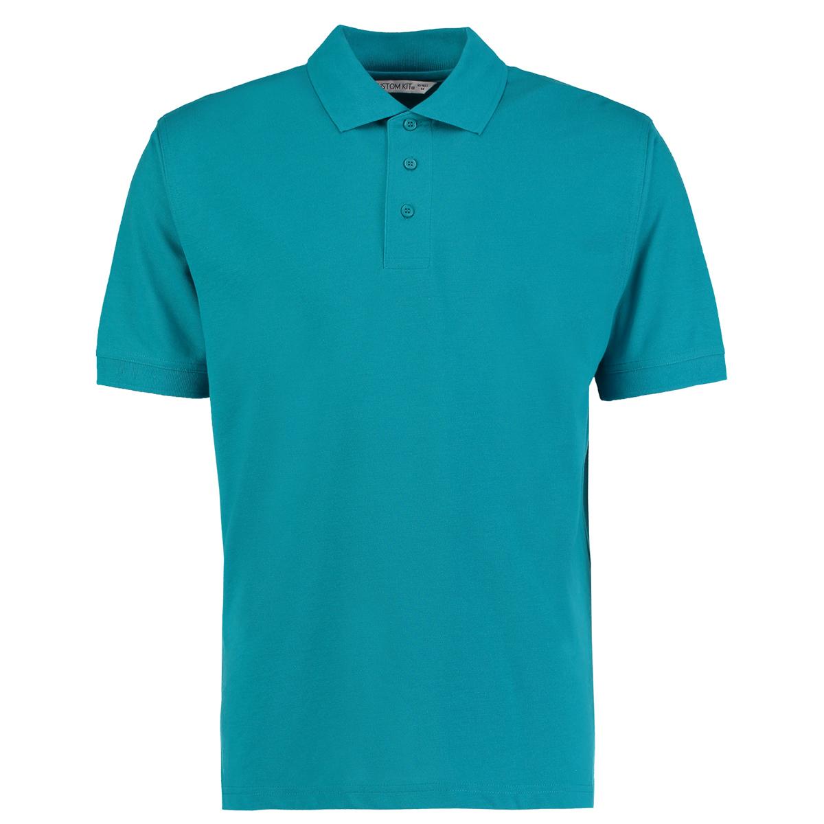 Kustom Kit Uomo Classico Polo T-shirt KK403 Comfort Casual Fashion Wear Maglia Top
