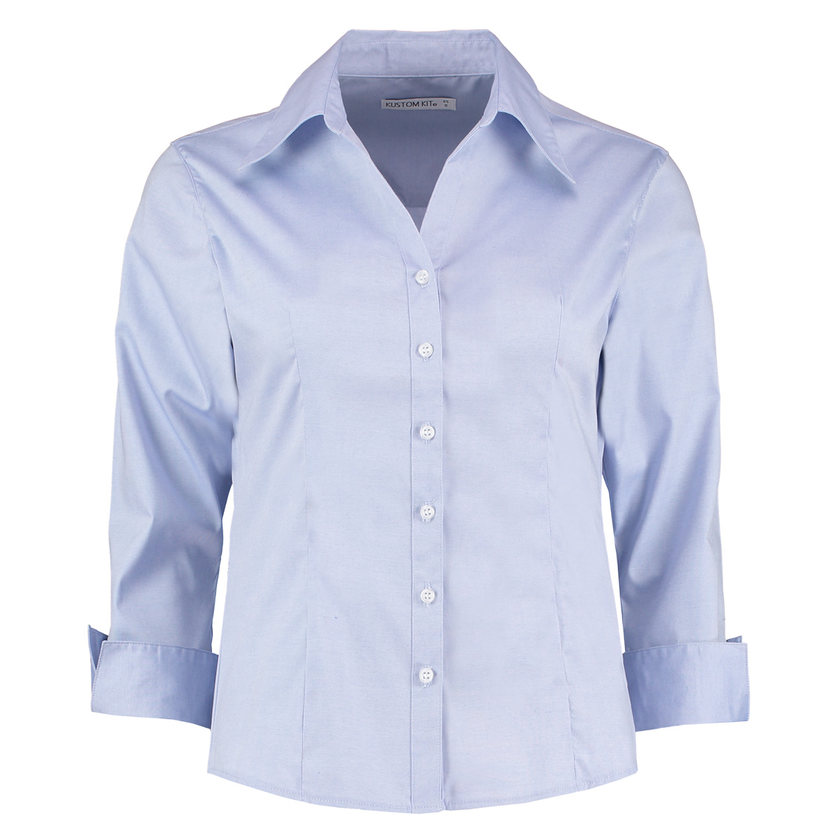 Womens Blue Oxford Shirt