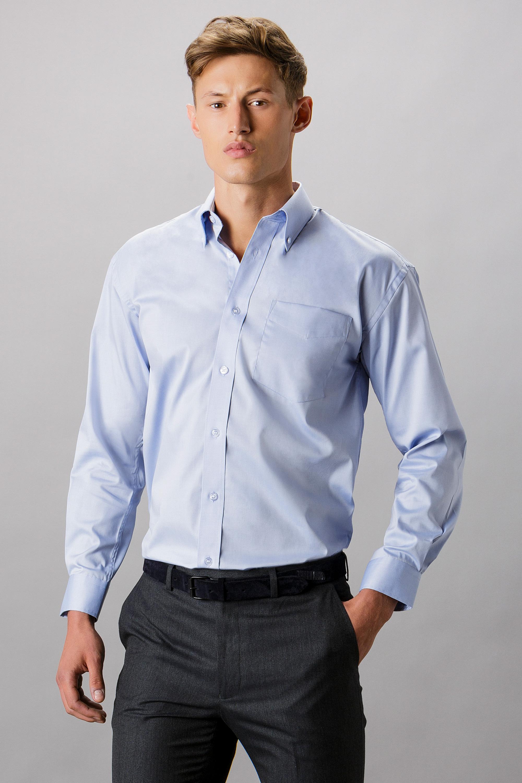 Kustom Kit Mens Short Sleeve Classic Fit Business Shirt
