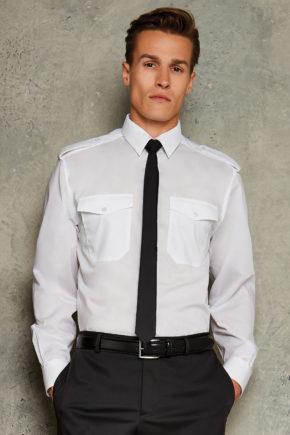 Camicia uomo Tailored Fit Business  Kustom Kit