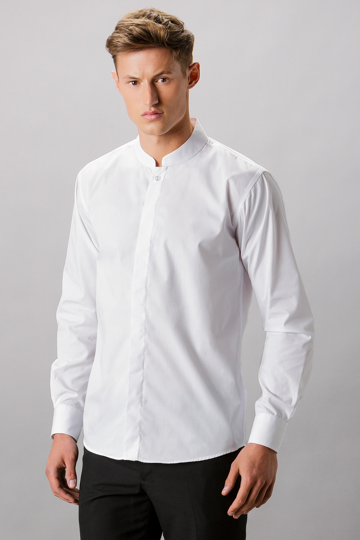 26e79273c208 KK161 Mandarin Collar Shirt - Kustom Kit
