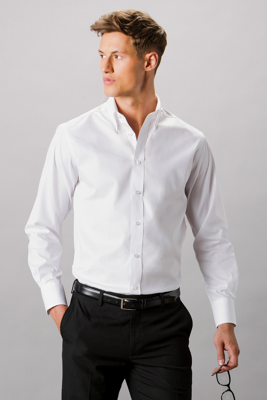 93b207ec543e KK188 Tailored Fit Premium Oxford Shirt - Kustom Kit