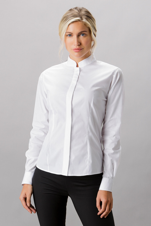 b06fff2af605d3 KK261 Mandarin Collar Shirt - Kustom Kit