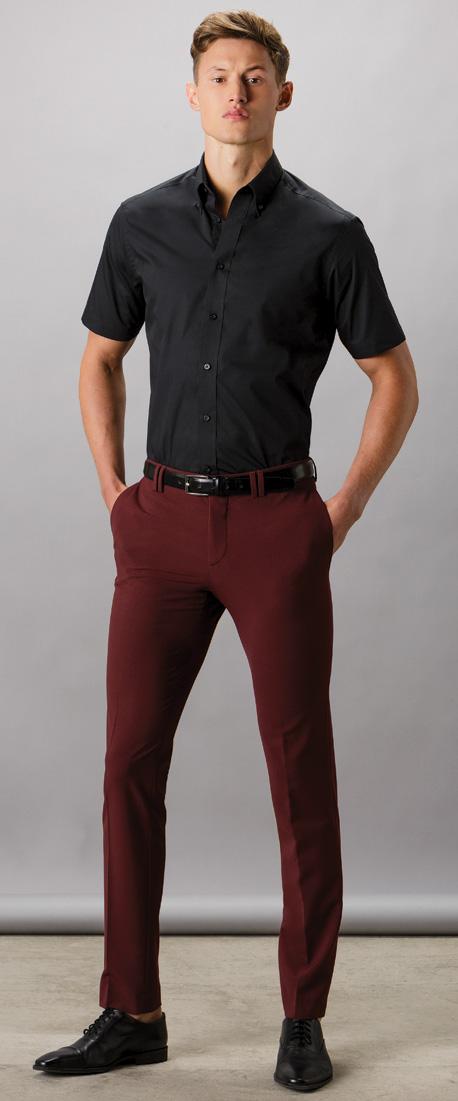 Kustom Kit Men/'s City Short Sleeve Business Shirt 100/% Cotton Work Wear KK385