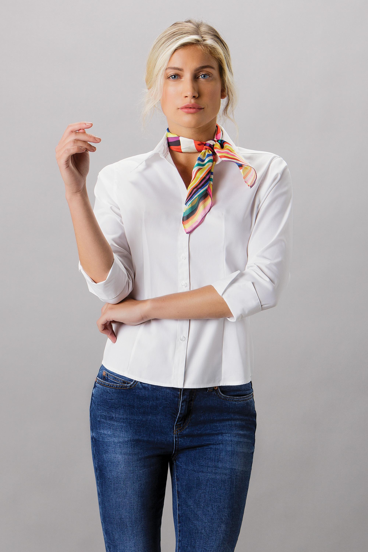 ae0a8ffece976 KK710 Premium Oxford Shirt 3/4 Sleeve - Kustom Kit