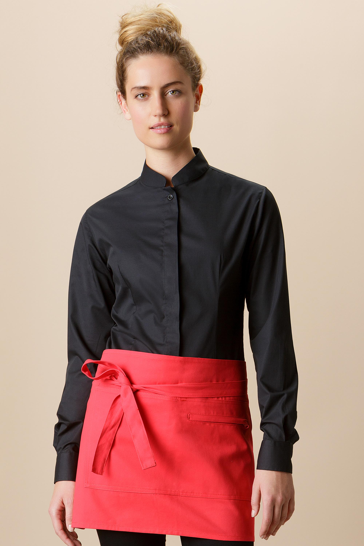 76a9c95f6f7f KK740 Mandarin Collar Bar Shirt - Kustom Kit
