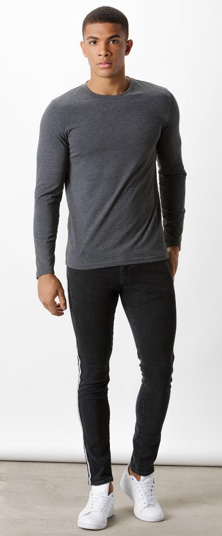 5d07665fd KK510 Fashion Fit Long Sleeve Tee - Kustom Kit