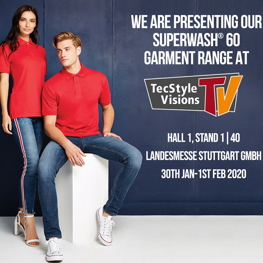 We are presenting our Superwash® 60 range at TecStyle Visions 2020