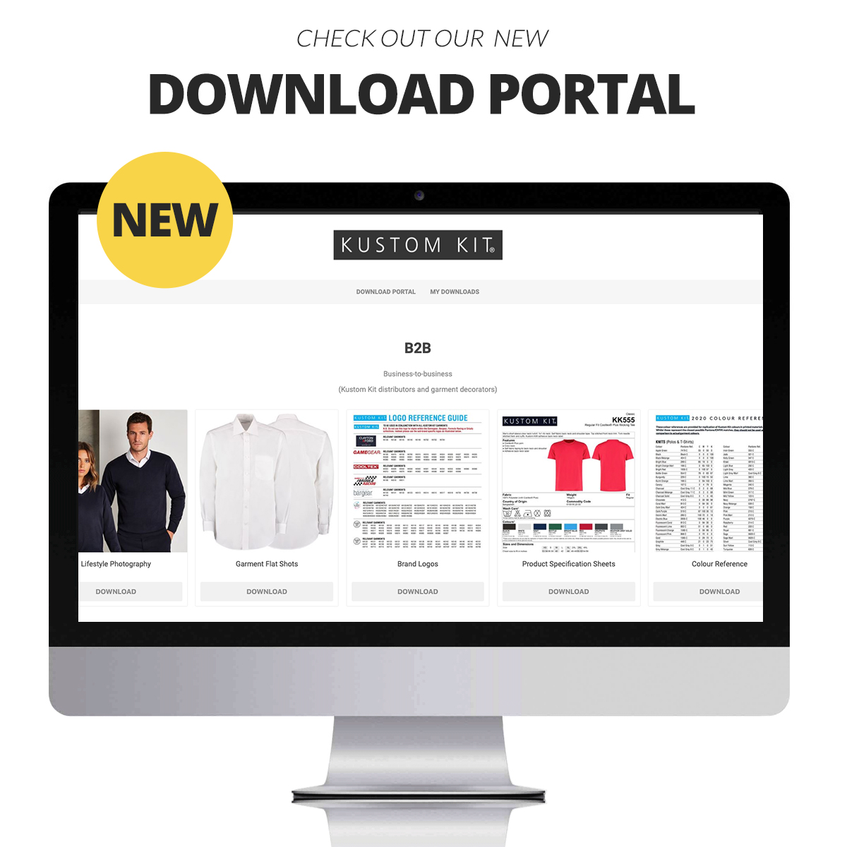 Check Out Our New Download Portal